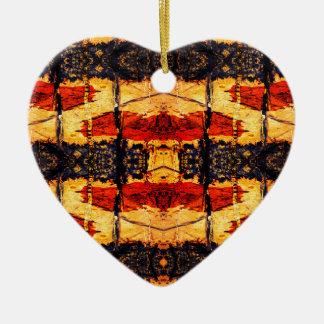 Ornamento De Cerâmica Fusão tribal