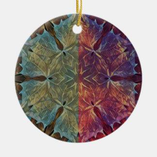 Ornamento De Cerâmica Galão frondoso