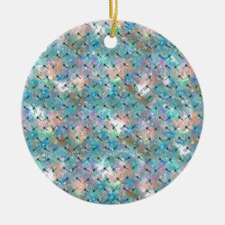 Ornamento De Cerâmica Galáxia da libélula