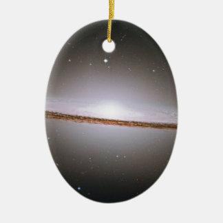 Ornamento De Cerâmica Galáxia do Sombrero