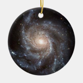 Ornamento De Cerâmica Galáxia espiral