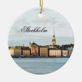 Ornamento De Cerâmica Gamla Stan em Éstocolmo, suecia