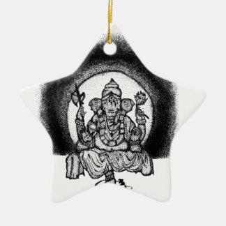 Ornamento De Cerâmica ganesh