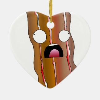 Ornamento De Cerâmica Ganhos do bacon da aflição