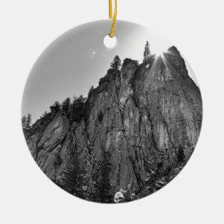 Ornamento De Cerâmica Garganta de Boulder do pináculo dos estreitos