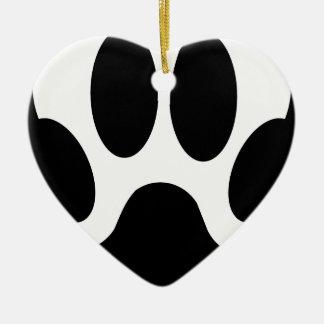 Ornamento De Cerâmica garra do lobo