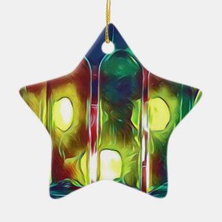 Ornamento De Cerâmica Garrafas de vinho artísticas da Multi-Cor Funky