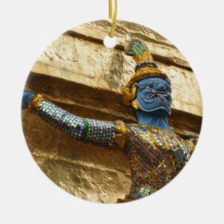 Ornamento De Cerâmica Garuda apenas