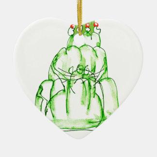 Ornamento De Cerâmica gato da geléia do limão dos fernandes tony