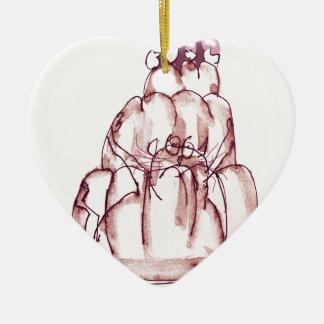 Ornamento De Cerâmica gato do jello da cola dos fernandes tony