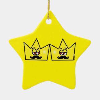 Ornamento De Cerâmica Gay King Rei Crown Coroa