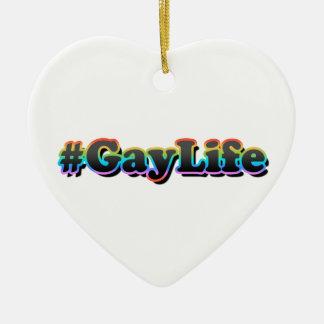 Ornamento De Cerâmica #GayLife