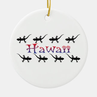 Ornamento De Cerâmica gecos do hawai