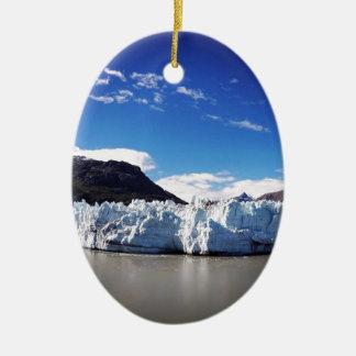 Ornamento De Cerâmica Geleira do Alasca