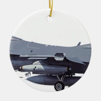 Ornamento De Cerâmica General_Dynamics_F-16C_Fighting_Falcon_ (401),