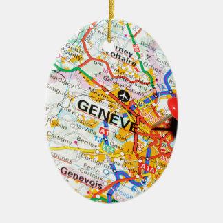 Ornamento De Cerâmica Geneve, Genebra, suiça