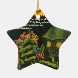 Ornamento De Cerâmica Ghoul verde gigante