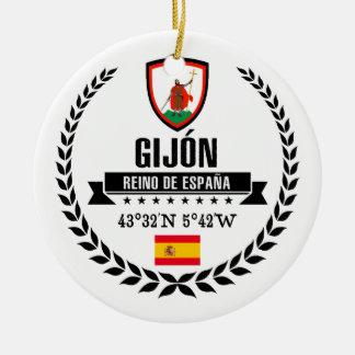 Ornamento De Cerâmica Gijón