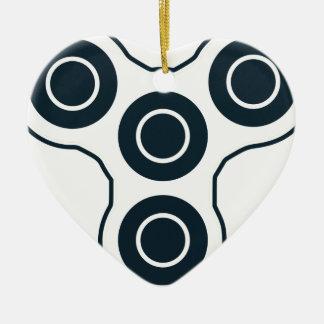Ornamento De Cerâmica Girador simples da inquietação