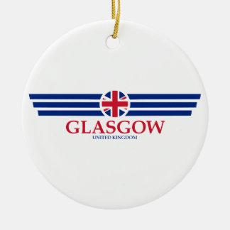 Ornamento De Cerâmica Glasgow