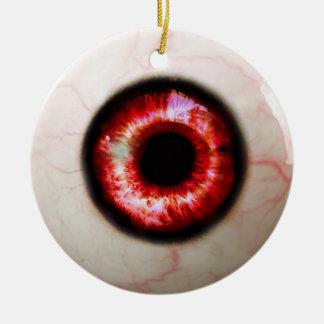 Ornamento De Cerâmica Globo ocular assustador