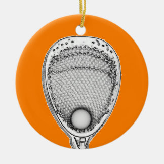 Ornamento De Cerâmica Goalie do Lacrosse