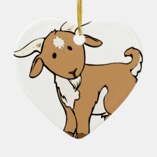 Ornamento De Cerâmica goatee da cabra