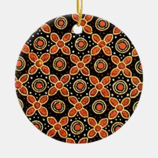 Ornamento De Cerâmica godong 03 do batik