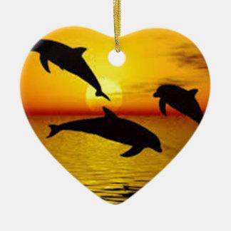 Ornamento De Cerâmica golfinho