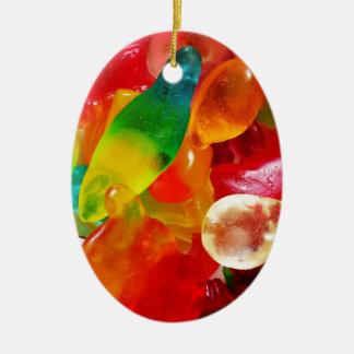 Ornamento De Cerâmica goma da geléia