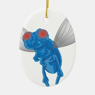 Ornamento De Cerâmica Gráfico da mosca
