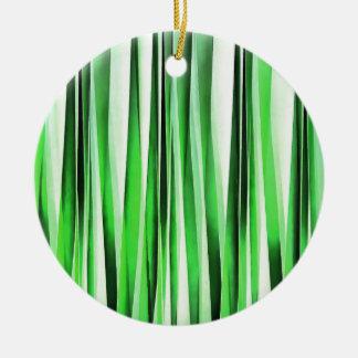 Ornamento De Cerâmica Grama verde de sussurro