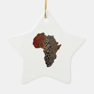 Ornamento De Cerâmica Grande África