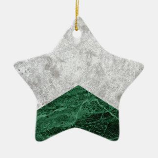 Ornamento De Cerâmica Granito concreto #412 do verde da seta