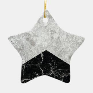 Ornamento De Cerâmica Granito concreto #844 do preto da seta