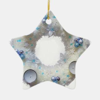 Ornamento De Cerâmica grinalda do advento
