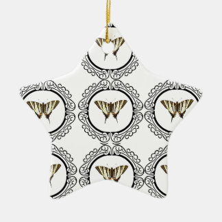 Ornamento De Cerâmica grupo de borboletas
