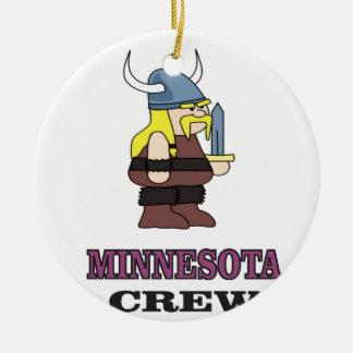 Ornamento De Cerâmica Grupo de Minnesota