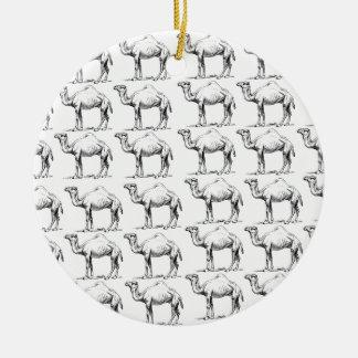 Ornamento De Cerâmica grupo do rebanho dos camelos