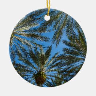 Ornamento De Cerâmica Guarda-chuva das palmeiras