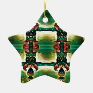 Ornamento De Cerâmica Guarda psicadélico