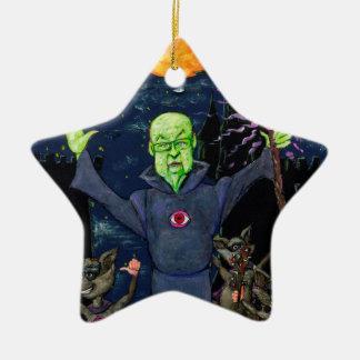 Ornamento De Cerâmica Guaxinins do feiticeiro e do mau