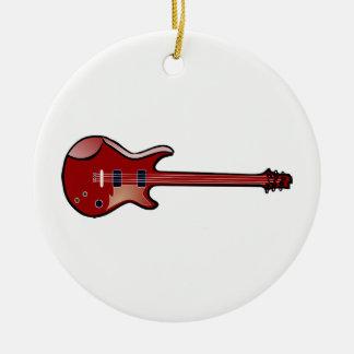 Ornamento De Cerâmica Guitarra baixa