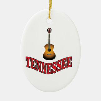 Ornamento De Cerâmica Guitarra de Tennessee