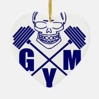 Ornamento De Cerâmica Gym e levantamento