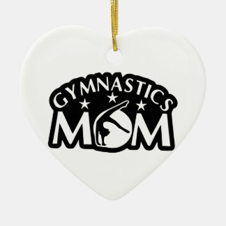 Ornamento De Cerâmica Gymnastics_Mom