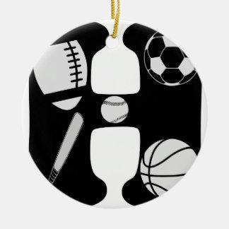 Ornamento De Cerâmica h inicial