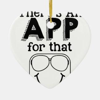 Ornamento De Cerâmica Há um app para aquele