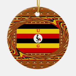 Ornamento De Cerâmica Hakuna surpreendente bonito Matata Uganda bonito