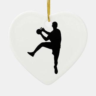 Ornamento De Cerâmica Handball